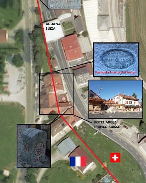 Khách sạn độc đáo nằm giữa biên giới: Khách nằm ngủ ở Thụy Sĩ nhưng lại phải sang Pháp đi vệ sinh - Ảnh 3.