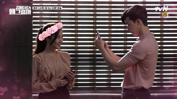 Nóng hừng hực với hậu trường cảnh 18+ của Thư Ký Kim bạo không kém gì khi lên phim - Ảnh 8.