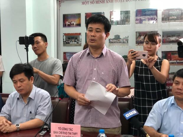 Họp báo vụ nghi vấn điểm thi ở Lạng Sơn: Chỉ có 8 bài thi Văn bị giảm điểm, bài thi trắc nghiệm không phát hiện sai phạm sau khi chấm thẩm định - Ảnh 5.