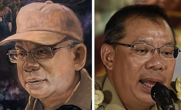 Ảnh: Bức bích họa lớn tôn vinh các anh hùng giải cứu đội bóng Thái Lan - Ảnh 12.