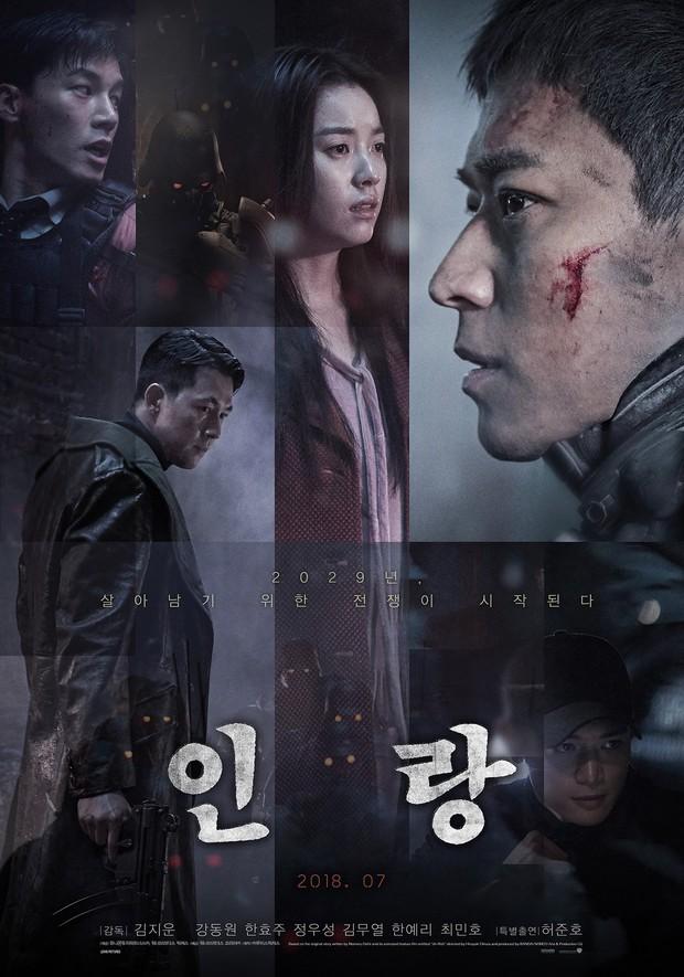 Kang Dong Won đi xem suất chiếu đặc biệt Illang: The Wolf Brigade - Ảnh 1.