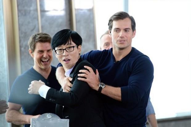 Vì sao Running Man không có bất kỳ thử thách thể lực nào cho 3 tài tử Hollywood? - Ảnh 2.