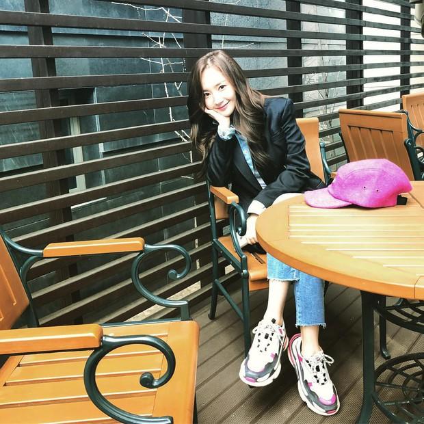 Park Min Young là thư ký sành điệu nhưng style ngoài đời giản dị vô cùng - Ảnh 5.