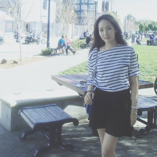 Park Min Young là thư ký sành điệu nhưng style ngoài đời giản dị vô cùng - Ảnh 10.
