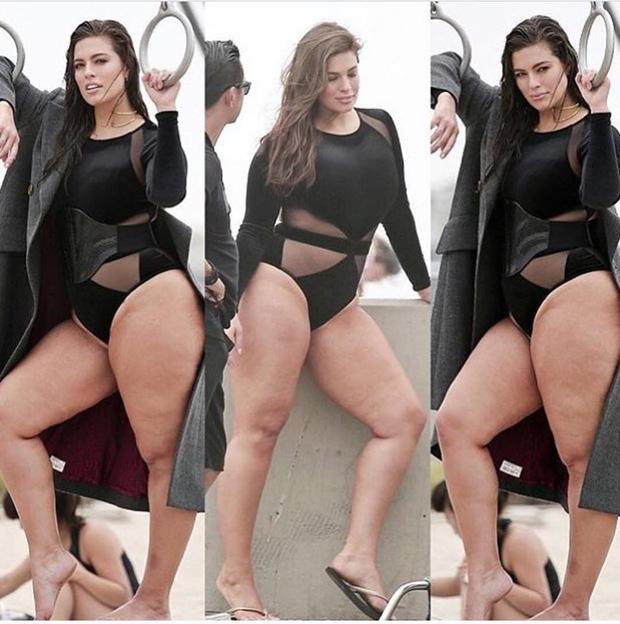 Đăng clip mặc bikini bị mỉa như mang bầu, siêu mẫu ngoại cỡ thẳng đuột đáp trả: Béo thì thế! - Ảnh 5.