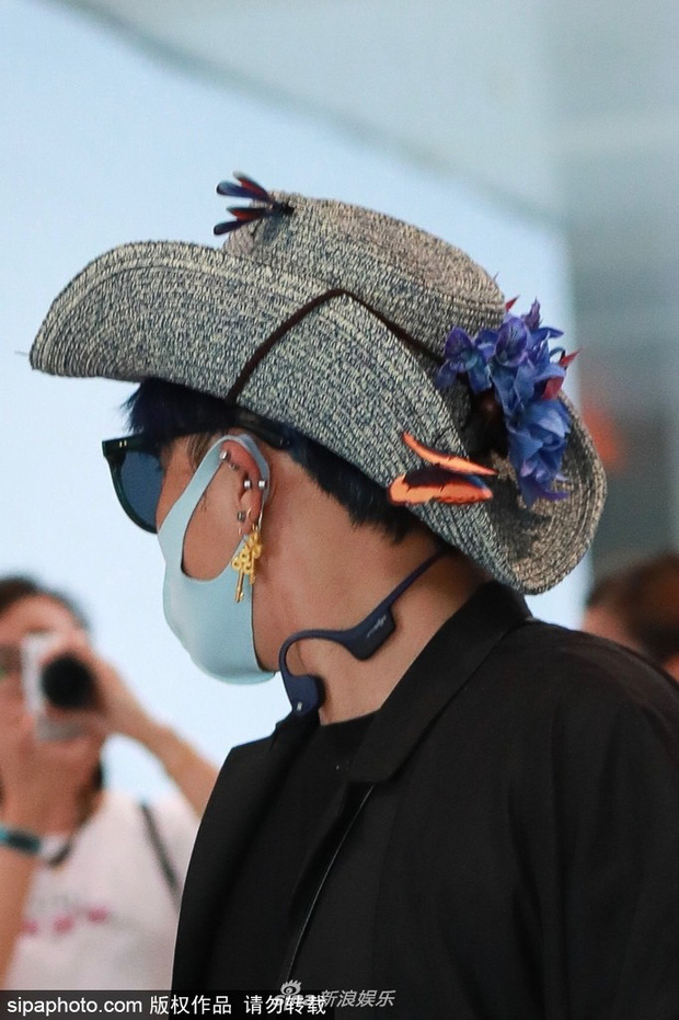 Nhĩ Thái Trần Chí Bằng bắt chước Hàm Hương, gây sốc khi đội mũ toàn hoa cỏ và bươm bướm - Ảnh 5.