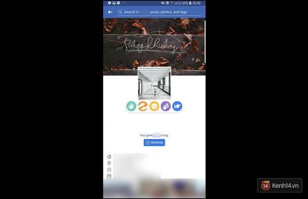 Facebook Việt Nam vừa cho phép vẫy tay, ôm ấp với ảnh đại diện ngay trên trang cá nhân - Ảnh 1.