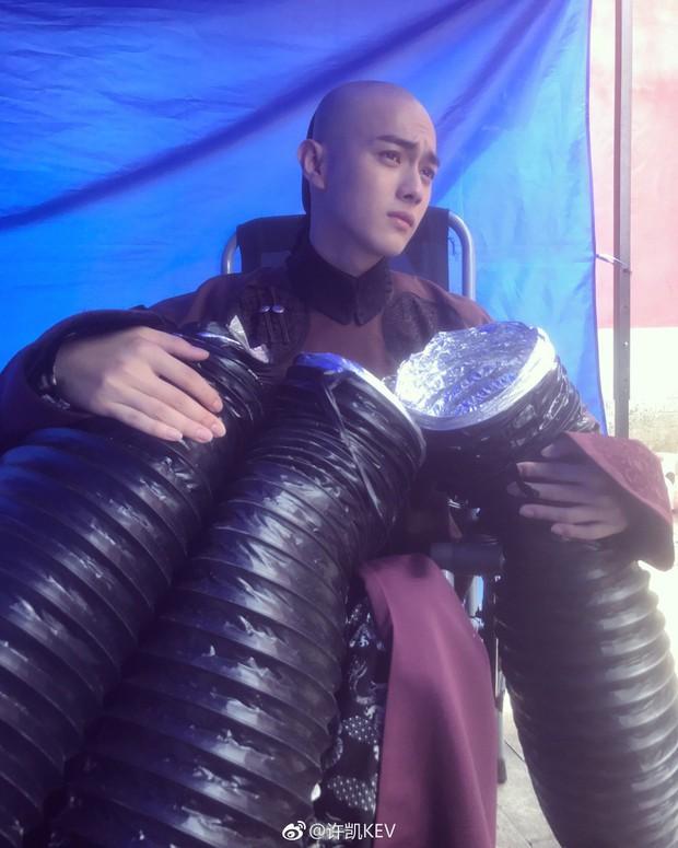 Phó Hằng Hứa Khải - mỹ nam 9X khiến fan ôm tim lũ lượt vì điển trai xuất sắc trong Diên Hi Công Lược - Ảnh 9.