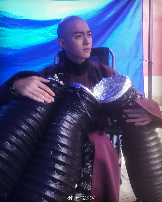 Phó Hằng Hứa Khải - mỹ nam 9X khiến fan ôm tim lũ lượt vì điển trai xuất sắc trong Diên Hi Công Lược - Ảnh 10.