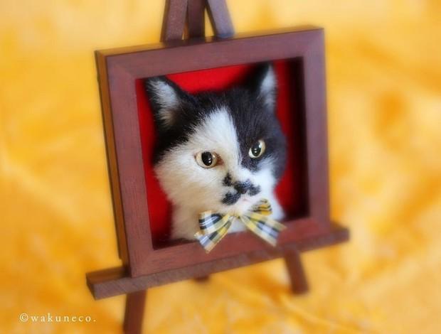 Chỉ bằng những sợi len, các nghệ nhân Nhật Bản đã tạo ra những chú mèo bông y chang ngoài đời - Ảnh 8.