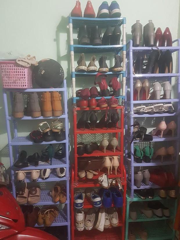 Nhìn sự chênh lệch giữa tủ giày của vợ và chồng mới thấy phụ nữ quả thật quá phức tạp! - Ảnh 4.