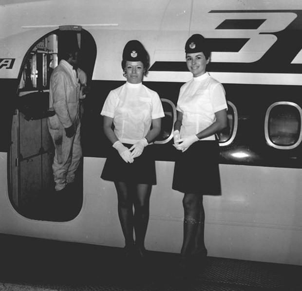 Hình ảnh cho thấy những đổi thay trong các chuyến bay xưa và nay - Ảnh 32.
