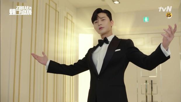 Thư Ký Kim khép lại bằng đám cưới đẹp như cổ tích của Song Park - Ảnh 1.