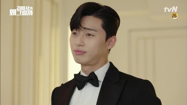 Thư Ký Kim khép lại bằng đám cưới đẹp như cổ tích của Song Park - Ảnh 3.
