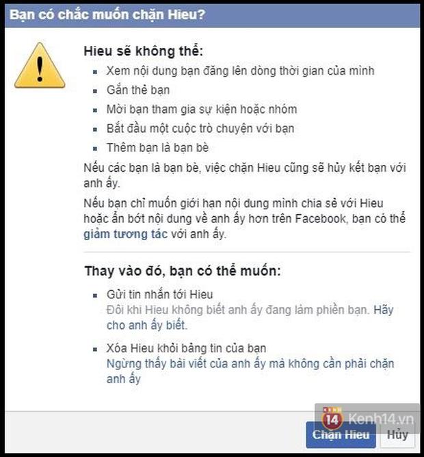 Bí kíp phản đam Facebook: Cách block ngược lại những ai vẫn còn đang block mình - Ảnh 4.