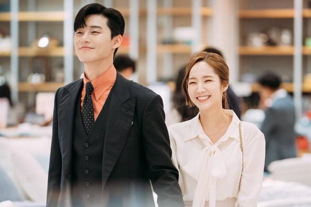 Cặp Thư Ký Kim Park Seo Joon và Park Min Young cuối cùng đã lên tiếng về tin đồn hẹn hò - Ảnh 1.