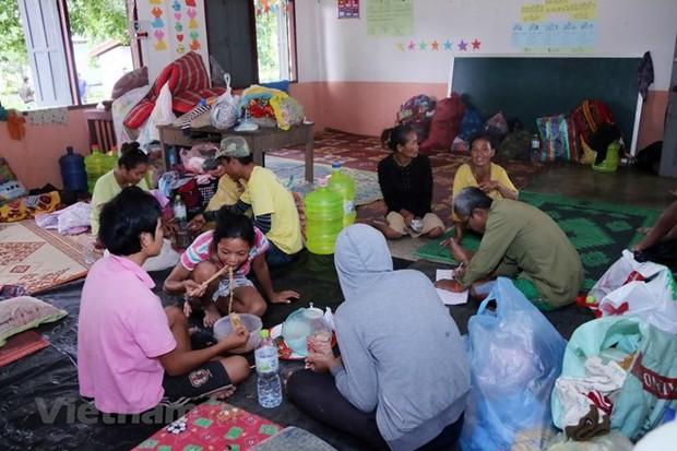 Cuộc sống khó khăn của dân ở Sanamxay sau sự cố vỡ đập thủy điện - Ảnh 1.
