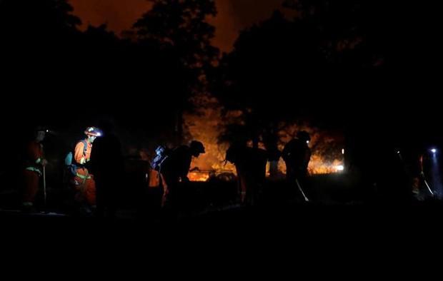 """Hãi hùng cảnh tượng cháy rừng dữ dội """"bủa vây"""" bang California, Mỹ - Ảnh 6."""