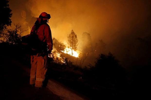 """Hãi hùng cảnh tượng cháy rừng dữ dội """"bủa vây"""" bang California, Mỹ - Ảnh 7."""