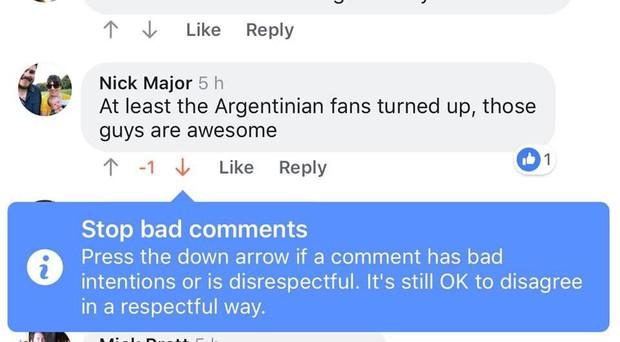 Facebook Mỹ tràn ngập nút upvote/downvote: Một cách dislike comment kiểu mới? - Ảnh 1.