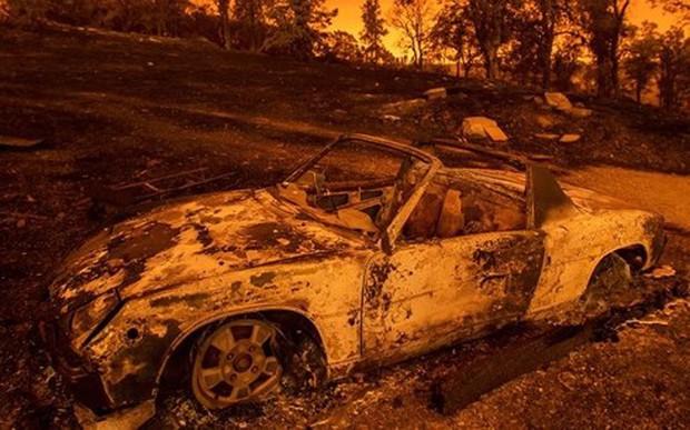 Cháy rừng nghiêm trọng ở Mỹ làm 5 người chết - Ảnh 1.