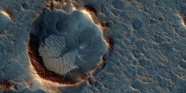 Cận cảnh bề mặt kỳ thú trên Sao Hỏa trong loạt ảnh mới nhất của NASA - Ảnh 9.
