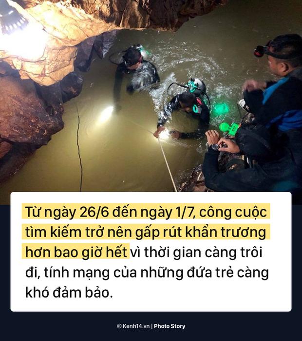 Những khó khăn chồng chất trong suốt nửa tháng giải cứu đội bóng Thái Lan - Ảnh 15.