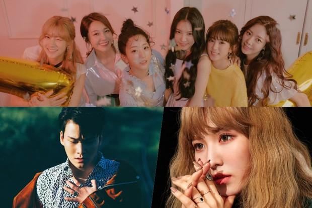 Kpop tháng 7: Idolgroup cũ, mới thi nhau tung MV chào hè - Ảnh 3.