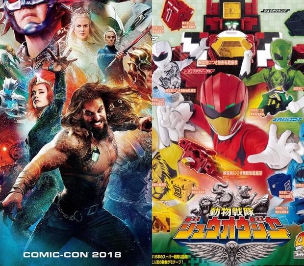 Vẫn chưa thoát kiếp bị chế, thêm một poster Aquaman bị sỉ là màu mè như... 5 anh em siêu nhân - Ảnh 3.