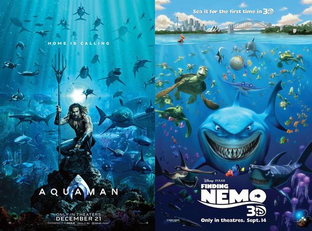 Vẫn chưa thoát kiếp bị chế, thêm một poster Aquaman bị sỉ là màu mè như... 5 anh em siêu nhân - Ảnh 7.