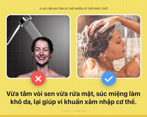Cứ tiếp tục 5 thói quen sai lầm này khi tắm, đứng hỏi vì sao da tổn thương nặng nề, sức khỏe nguy hại - Ảnh 1.