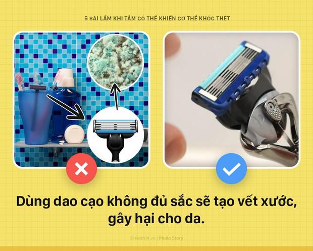 Cứ tiếp tục 5 thói quen sai lầm này khi tắm, đứng hỏi vì sao da tổn thương nặng nề, sức khỏe nguy hại - Ảnh 5.