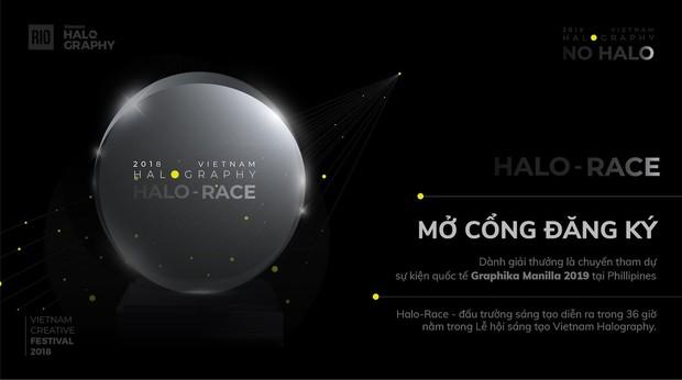 Vietnam Halography 2018 chính thức trở lại với chủ đề NO HALO - Không hào quang - Ảnh 2.