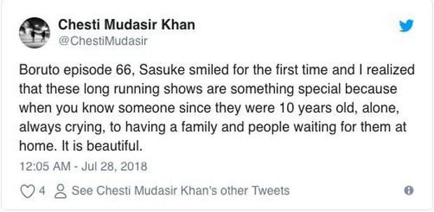 Fan Naruto mừng hết cỡ vì thấy Sasuke hạnh phúc hơn bao giờ hết trong hậu truyện Boruto - Ảnh 6.