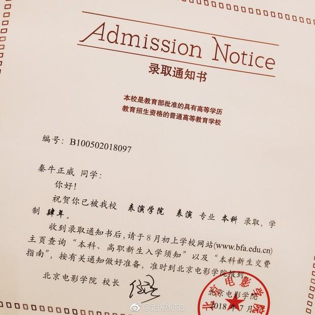 Nhan sắc của cô bạn tân sinh viên Học viện Điện ảnh Bắc Kinh: Chỉ cần mặc đồng phục thôi là đủ làm say đắm lòng người rồi - Ảnh 8.