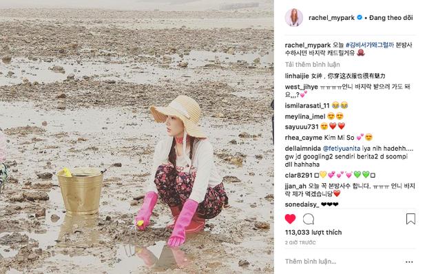 Hết Park Seo Joon, lại đến Park Min Young chứng minh: Đẹp thì lội bùn, mò cua bắt ốc cũng vẫn đẹp! - Ảnh 1.
