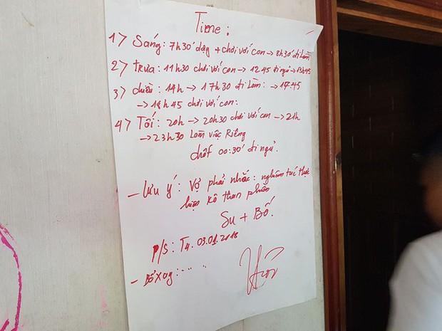 Nhiều người bất ngờ trước lịch sinh hoạt đầy khung giờ chơi với con trong nhà của trùm ma túy Nguyễn Văn Thuận - Ảnh 1.