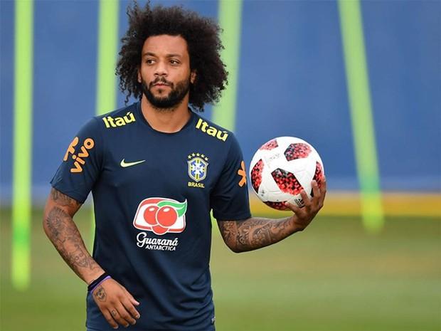 Dàn sao Brazil vui đùa trên sân tập trước trận đại chiến với Bỉ - Ảnh 5.