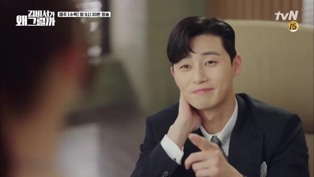 Thư Ký Kim tập 10 bỗng thiếu muối, fan chưng hửng nhìn Park Min Young lăn đùng ra ngất - Ảnh 14.