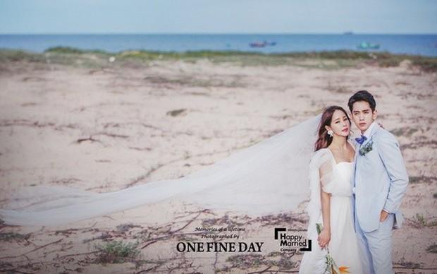 Cặp đôi nàng 46 chàng 29 ồn ào nhất showbiz Hàn khoe bộ ảnh cưới độc và lung linh như phim tại Hội An, Sài Gòn - Ảnh 7.