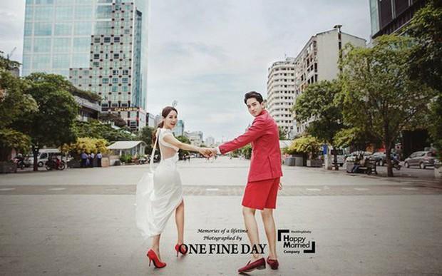 Cặp đôi nàng 46 chàng 29 ồn ào nhất showbiz Hàn khoe bộ ảnh cưới độc và lung linh như phim tại Hội An, Sài Gòn - Ảnh 4.