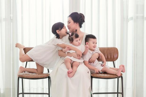 Gào khoe bộ ảnh cưới siêu hạnh phúc cùng chồng và 3 em bé - Ảnh 9.