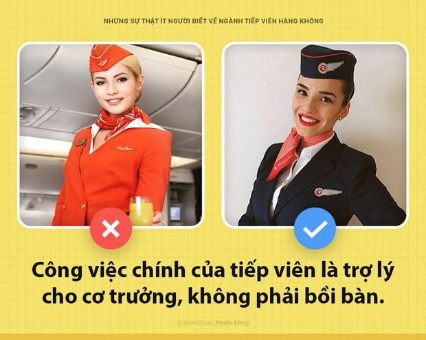 5 bí mật trong nghề tiếp viên hàng không mà có thể đến giờ bạn vẫn chưa từng nghe đến - Ảnh 2.