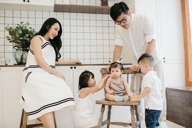 Gào khoe bộ ảnh cưới siêu hạnh phúc cùng chồng và 3 em bé - Ảnh 7.