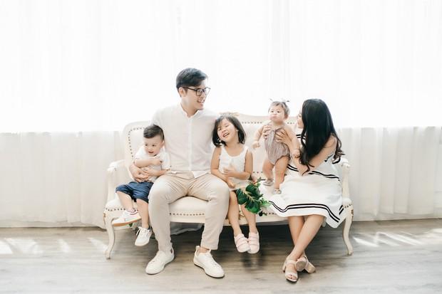 Gào khoe bộ ảnh cưới siêu hạnh phúc cùng chồng và 3 em bé - Ảnh 6.
