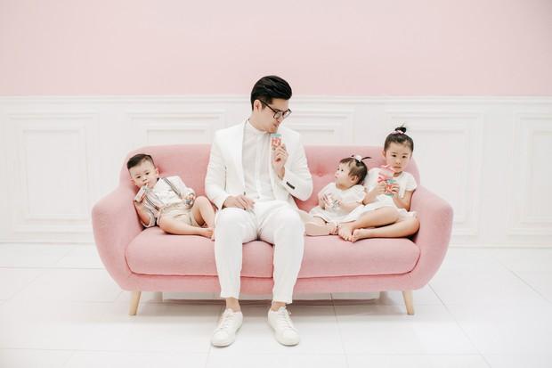 Gào khoe bộ ảnh cưới siêu hạnh phúc cùng chồng và 3 em bé - Ảnh 5.