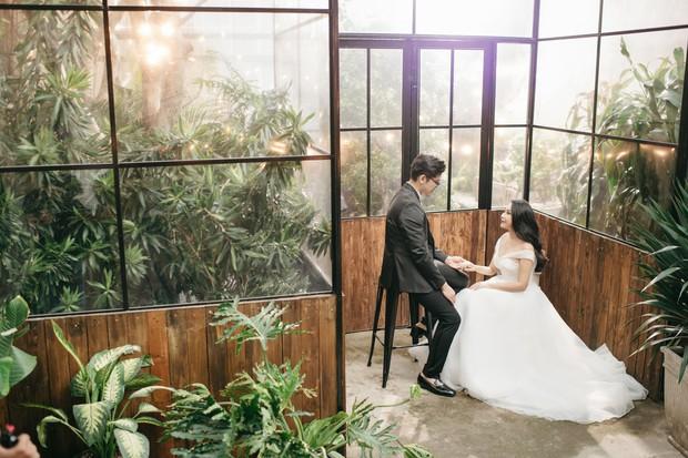 Gào khoe bộ ảnh cưới siêu hạnh phúc cùng chồng và 3 em bé - Ảnh 2.