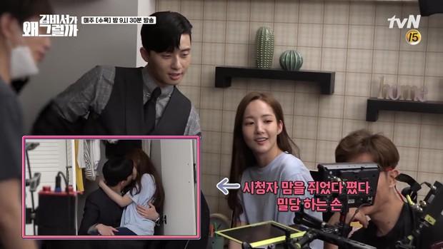 Thư Ký Kim: Phản ứng trái ngược của cặp đôi Park - Park và ekip sau cảnh hôn tủ quần áo - Ảnh 7.