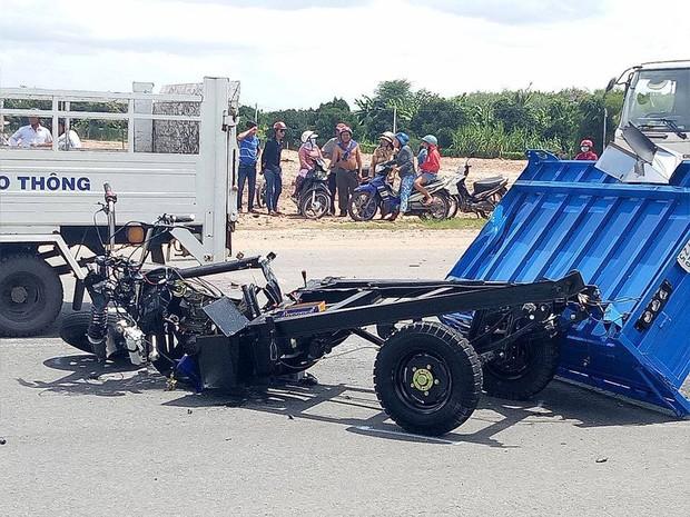 Vụ tai nạn liên hoàn khiến 3 người tử vong : Xe ba gác chạy trái đường sai quy định? - Ảnh 3.