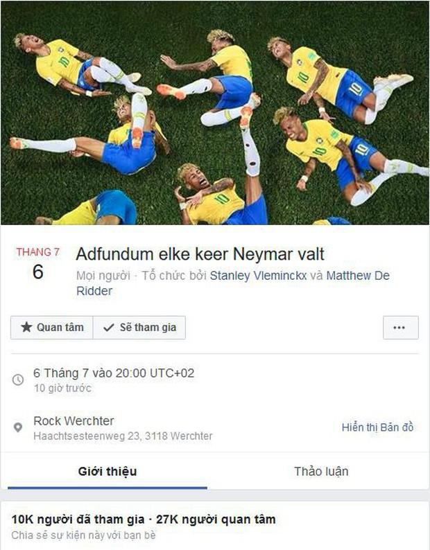 Cách xem bóng đá siêu dị của CĐV Bỉ: Uống cạn bia mỗi lần Neymar ngã - Ảnh 2.